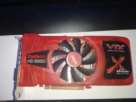 Placa video VTX Radeon 6850 1 GB DDR5 256 bit, DOTA,LOL, CSGO,FORTNITE