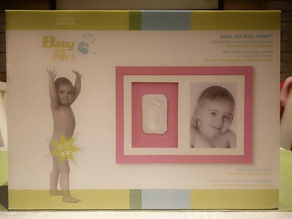 Baby art рамка за снимка с отпечатък