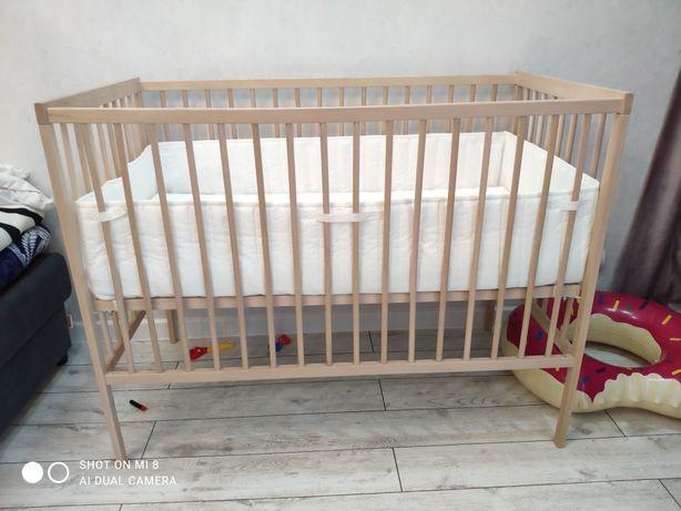 Продам новую детскую кроватку IKEA