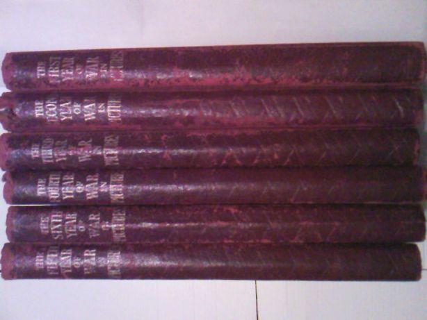 Al II-lea Razboi Mondial in poze set 6 volume engleza istorie militara