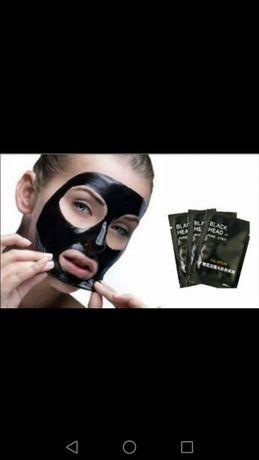Подхранващи маски за дълбоко почистване порите на лицето в 3 варианта
