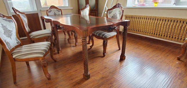 Продам стол с каменной столешницей
