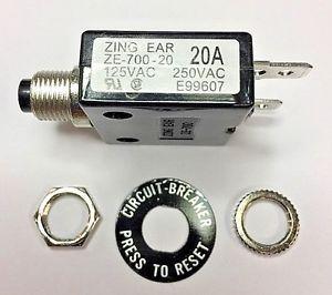 Токова защита - ZE-700 - 20A , 250 VAC