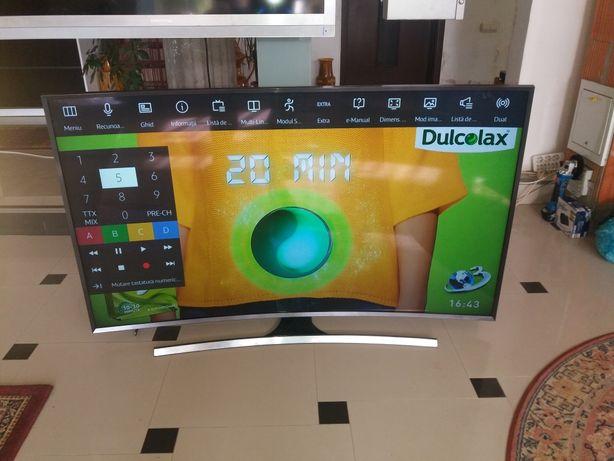 vind led curbat SAMSUNG 165cm smart ,4k,3Dfull extrase telec+suport