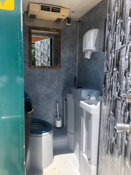 Toaleta ecologica mobila VIP - LUX