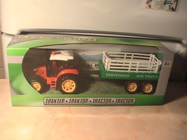 Tractor cu remorca / jucarie