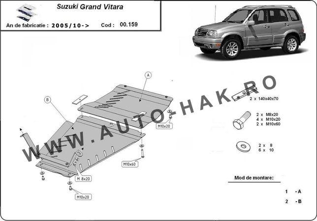 Scut metalic cutie de viteze si diferential Suzuki Grand Vitara 2005-p