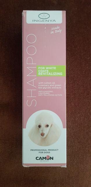 Șampon profesional pentru câini cu par alb