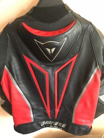 Geaca + Pantalon Moto piele Dainese Kirishima R. Ducati style