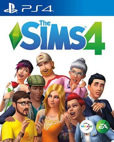 Sims 4 (PS4) - новый диск на русском языке