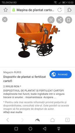 Vând mașină de plantat cartofi Ruris
