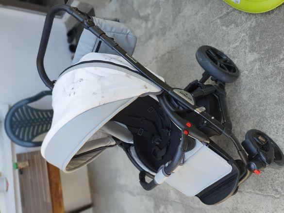 Бебешка количка 3в1 Ретрус Милано