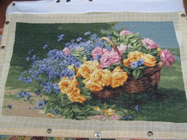 "Goblen ""Trandafiri si albastrele"""