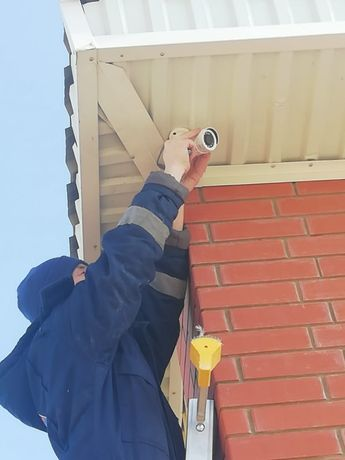 Видеонаблюдение Пожарный сигнализация Установка