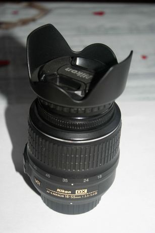 Продам объектив для зеркального фотоаппарата Nikon 18-55mm 1:3.5-5.6G