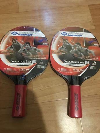 Set 2 palete pentru tenis de masa DONIC SENSATION 600 ASG
