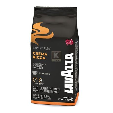 Lavazza Crema Ricca cafea boabe 1kg