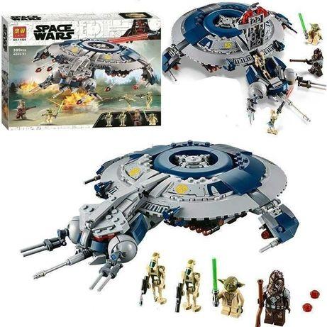 ЛЕГО Дроид-истребитель Lari 11420, Звездные войны, аналог Lego 75233.