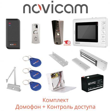 Установка видео домофонов, контроль доступа, замки, магниты, доводчики