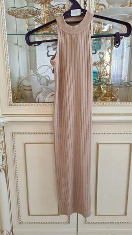 Платье лапша с разрезом