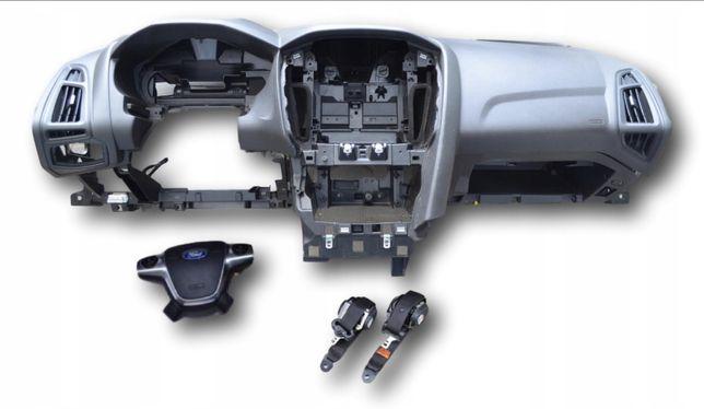KIT AIRBAG Ford FOCUS/  FIESTA plansa bord centuri airbag volan