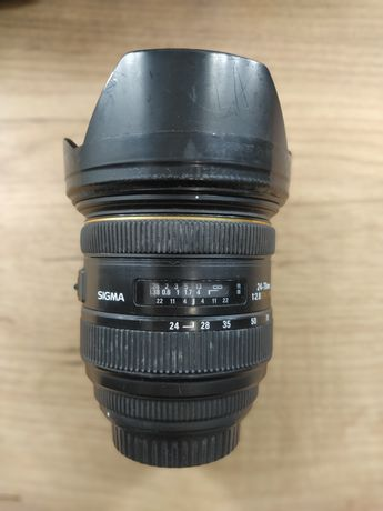 Sigma 24-70 f2.8 байонет Canon EF