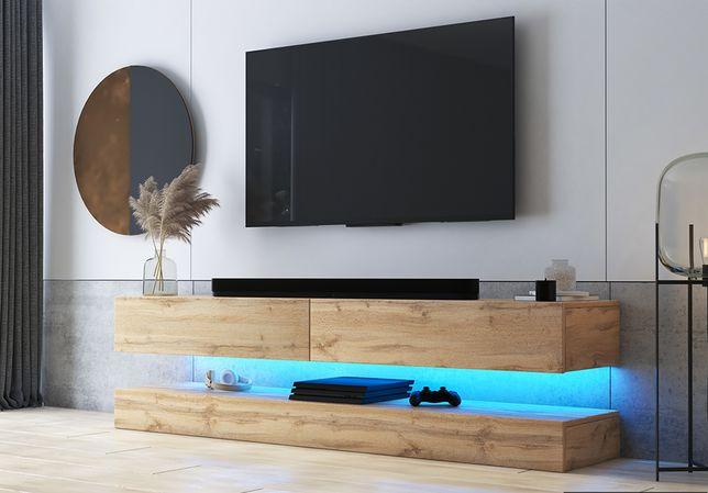 Comoda tv cu 2 sertare Aviator stejar