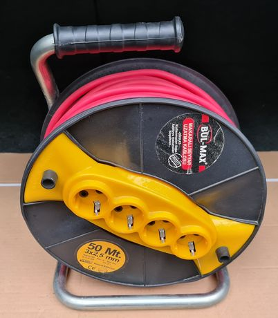 Rola prelungitor 50m cablu 3x2.5