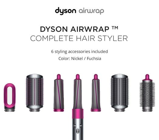Cтайлер Dyson Airwrap Complete (8 насадок)