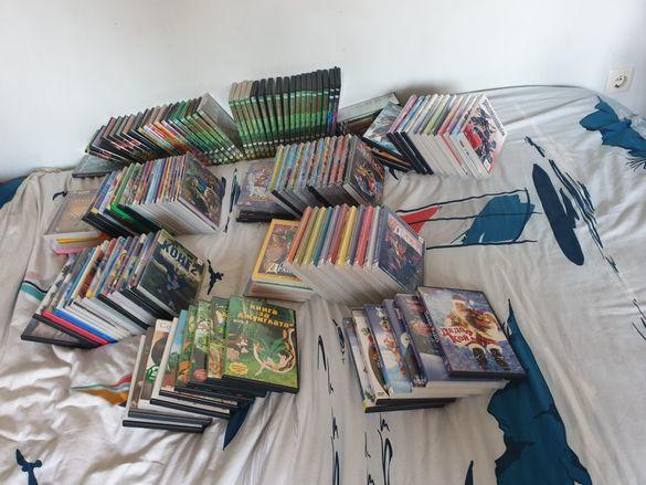 Dvd дискове, детски филми, костенурките, югио, трансформърс и други