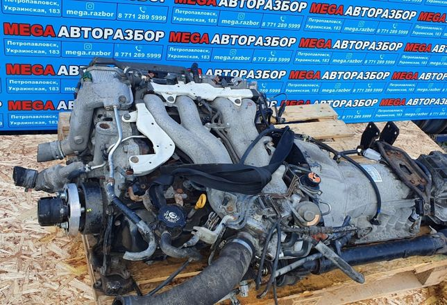 Продам двигатель на люсида 2.4 (2TZ)