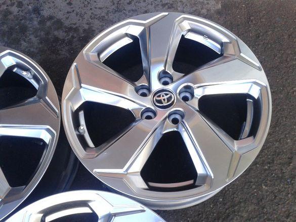 18'' оригинални алуминиеви джанти с гуми и дат4ици за Тоyотa RAV4