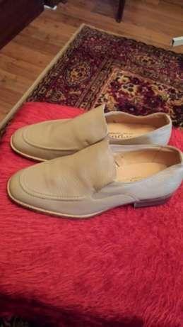 Мъжки естествена кожа обувки - нови