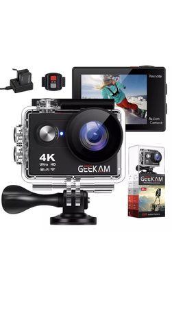 GEEKAM Action Camera 4K