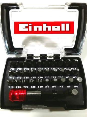 TRUSA 30 BITI (capete interschimbabile surubelnita ) EINHELL - NOU