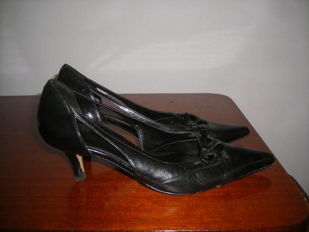 Pantofi dama piele negri 37
