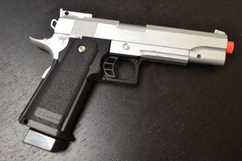 Pistol Full AIRSOFT (PUTERNIC) Metal armare manuala Arc Pusca +BONUS