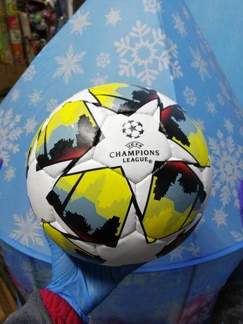 Мяч кожаный футбольный