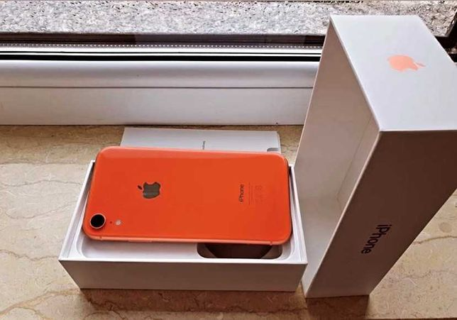 iPhone XR 64G Coral Neverlocked