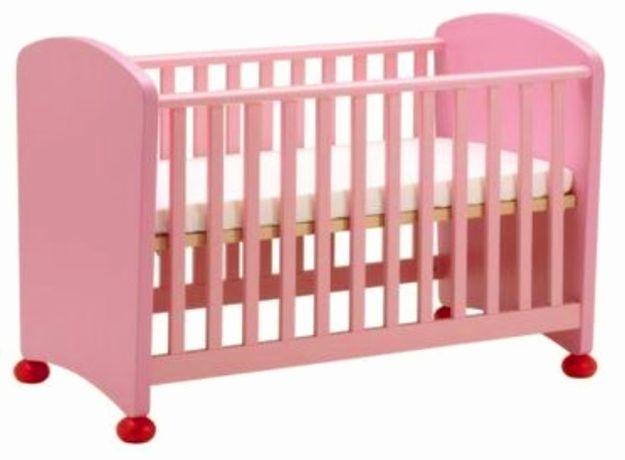 Vand pat copii Mammut roz - model Ikea