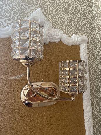 Светильники настенные 5 штук (парные)