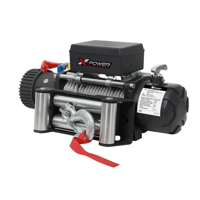 TROLIU auto X-POWER WINCH 12000LBS 12V (Forta tractare - 5440 kg)