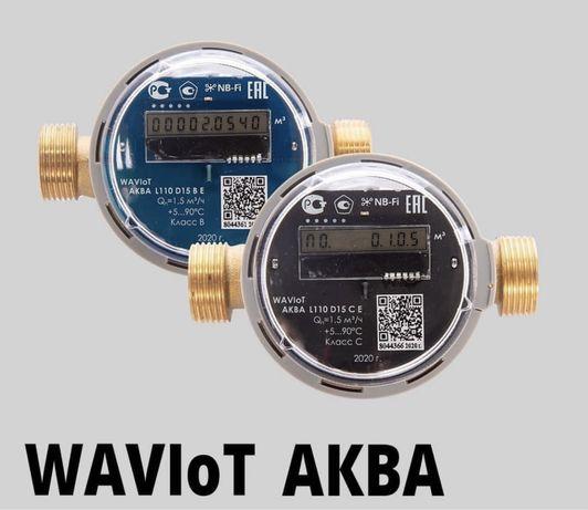 Умный счетчик воды с радиомодулем waviot Аква