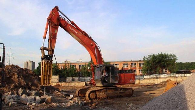 Демонтаж зданий (домов, коттеджей, железобетонных конструкций)