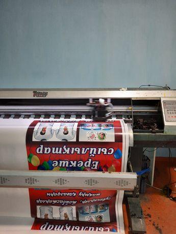 Срочно Широкоформатный принтер titan-jet 1.5 м