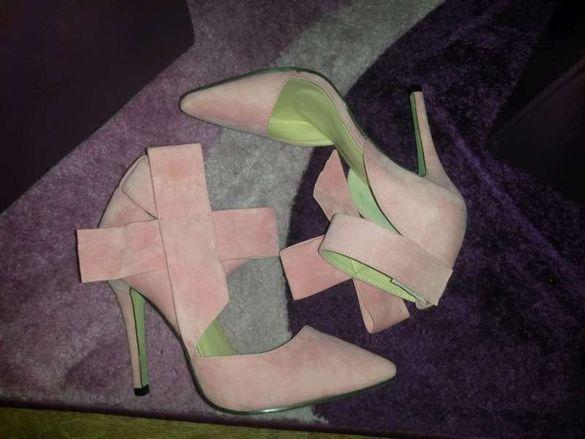 елегантни обувки на ток