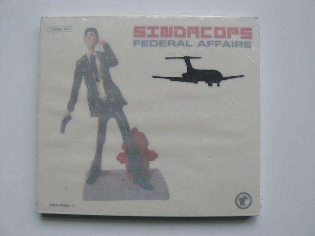 "CD Album "" SINDACOPS – FEDERAL AFFAIRS "" , Nou, Original, Sigilat."