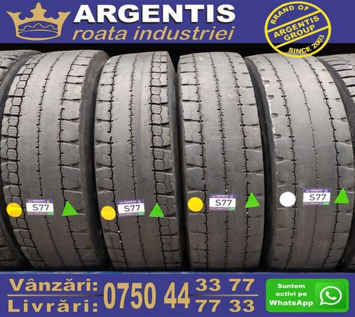 Set 4 Anvelope Camion 13/R22.5 (Cod S77)
