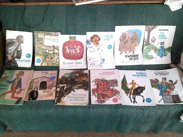 Колекция от детски книжки на патриотично- историческа тематика