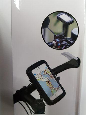 Suport telefon ghidon bicicleta (rezistent la apa, 360°)